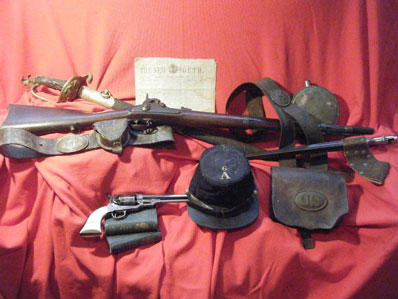 Click here to see our Civil War Items for sale